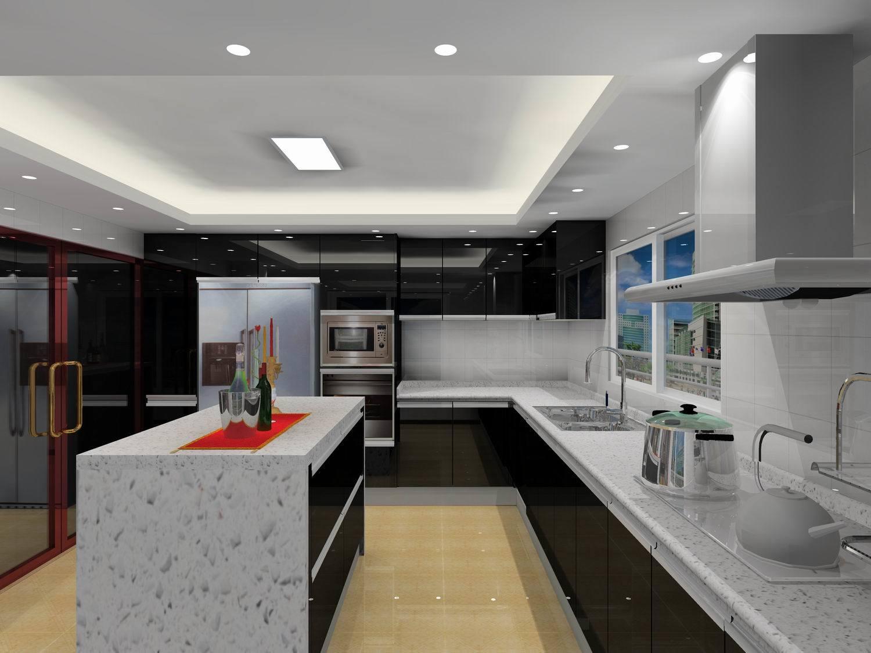 armário de cozinha cozinha verde #693C30 1500 1125