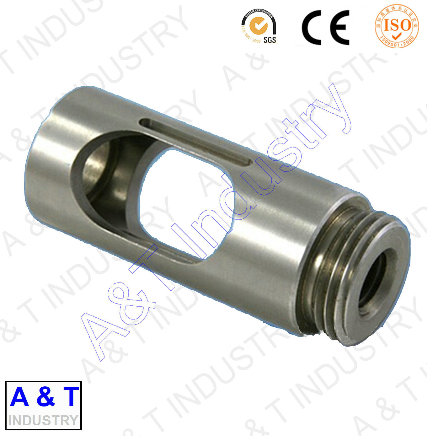 CNC Customize Stainless Steel/Brass/Aluminum Turning Parts