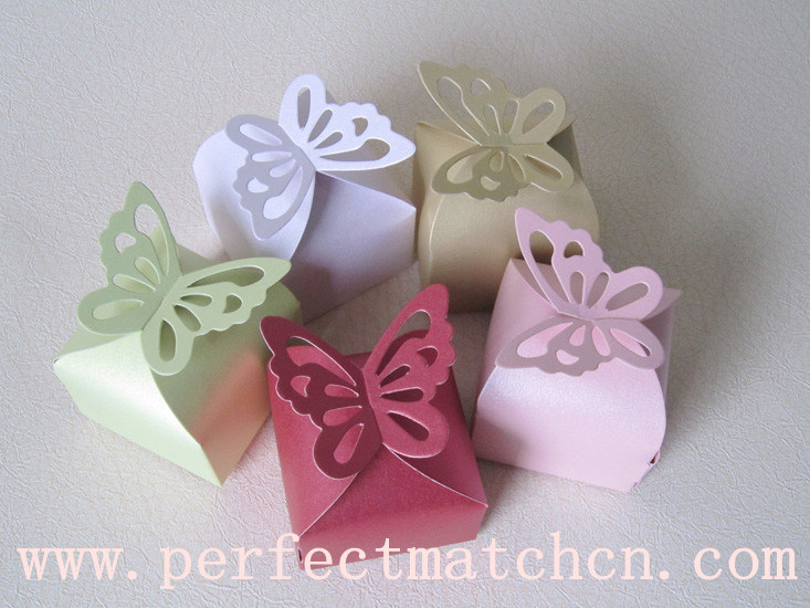 China Butterfly Wedding Favor Box PM FB091