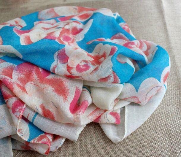 Fashion Silk Cotton Wool Linen Spring Autumn Scarf