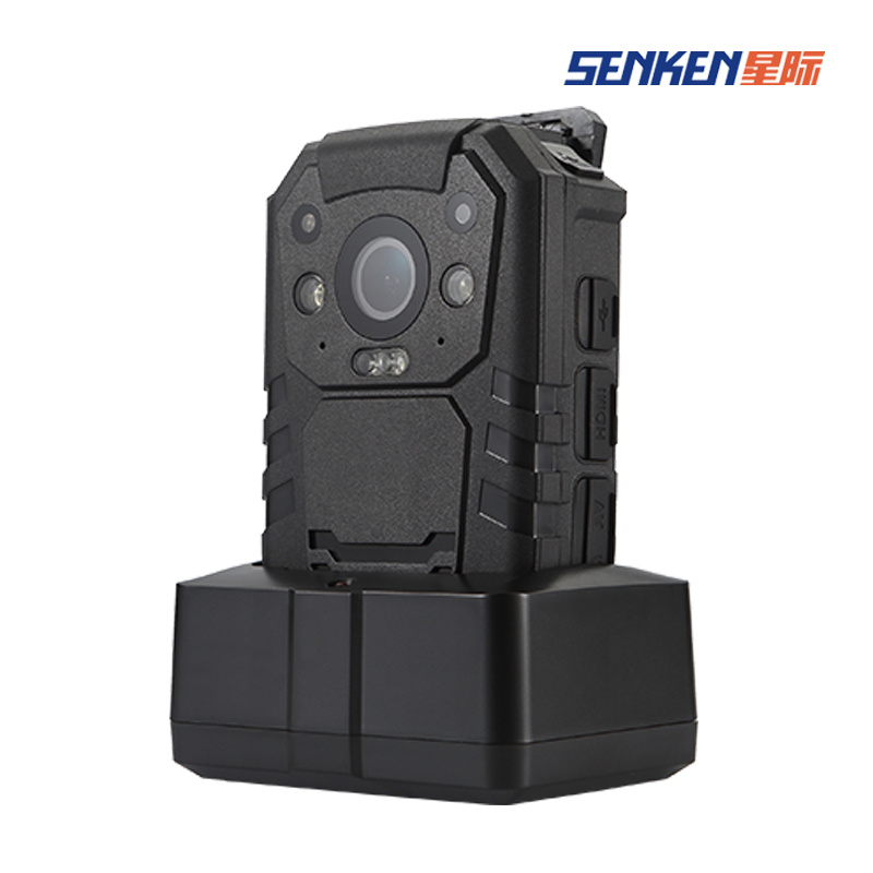 Signal Equipment Waterproof Police Body IP Camera with GPS