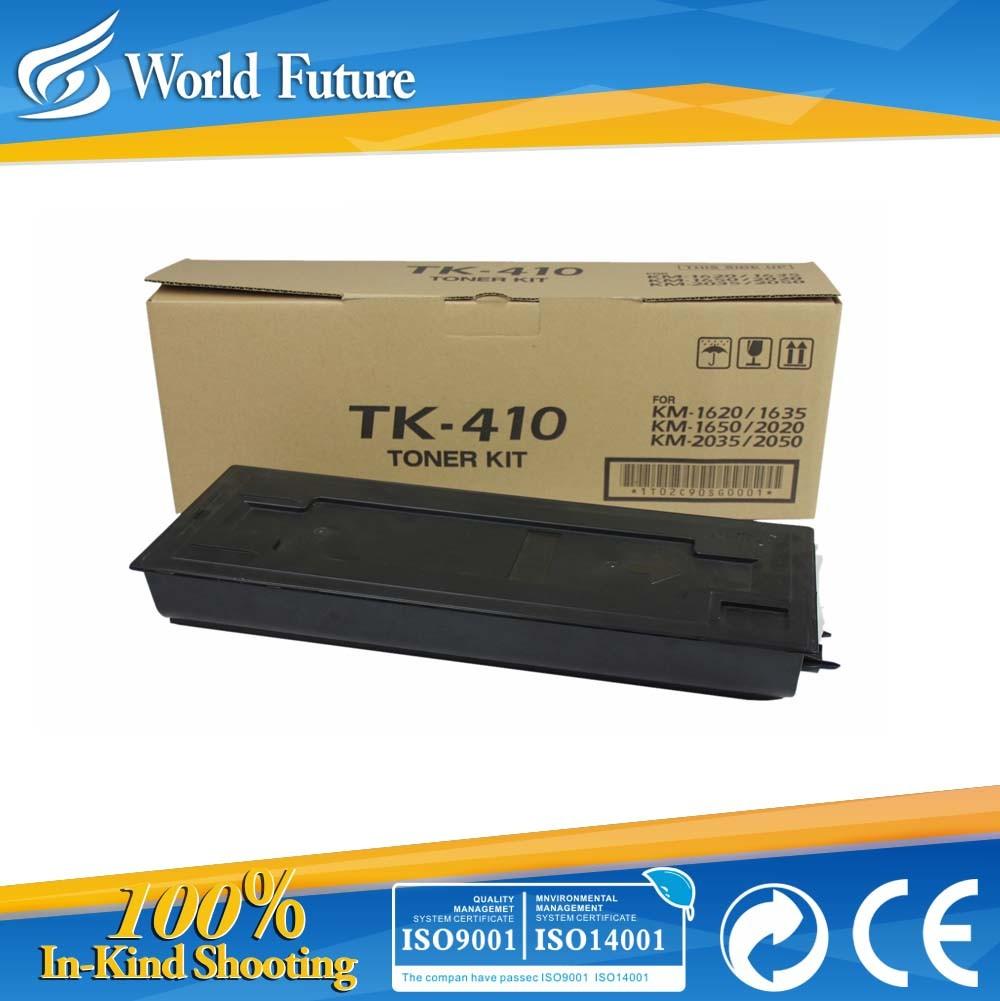 Toner Cartridge Tk410/Tk411/Tk413 for Use in Km1620/1635/1650/2020/2035/2050 Genuine Quality
