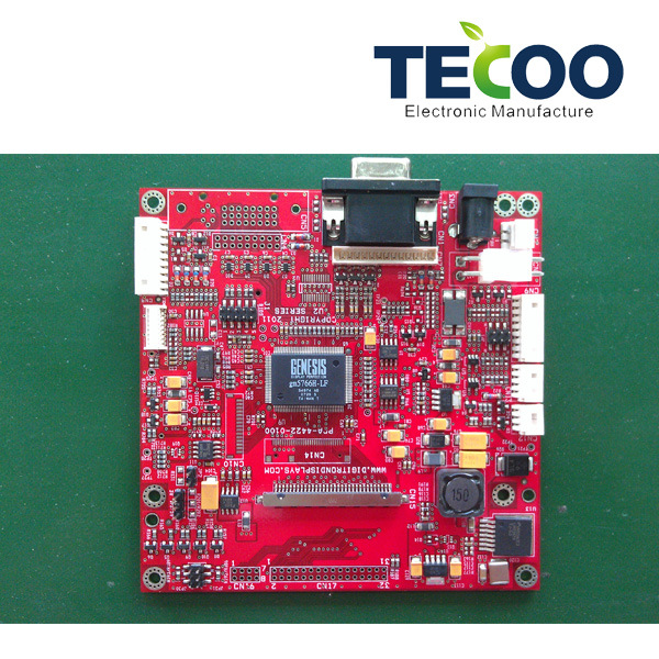 Turnkey Service, EMS/PCB, for LED Board, Available in Various Shapes and Designs