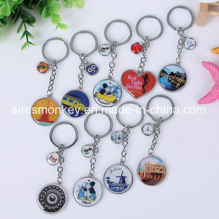 Metal Keychain in Various Shapes Hot Sale in 2017