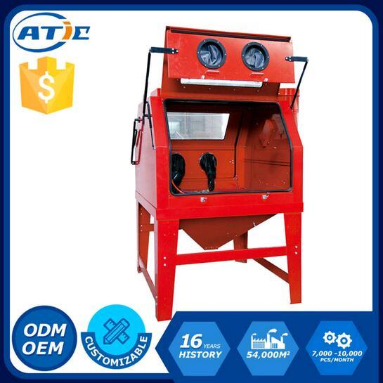 1200L Capacity with Double Doors Industrial Cabinet Sandblaster