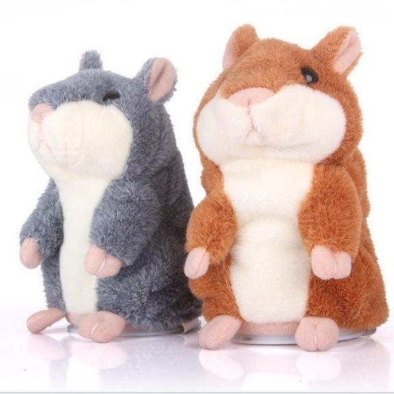 Super Soft and Stuffed Plush Hamster Toy