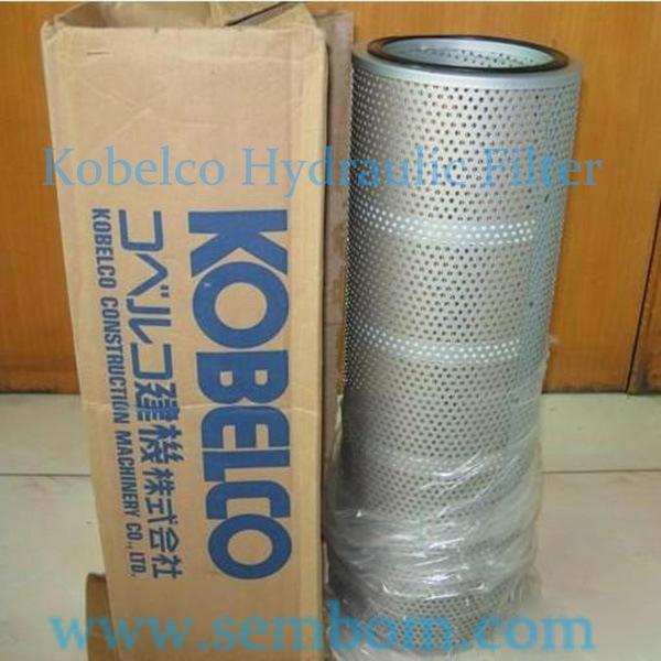 High Performance Hydraulic Oil Filter for Kobelco Excavator/Loader/Bulldozer