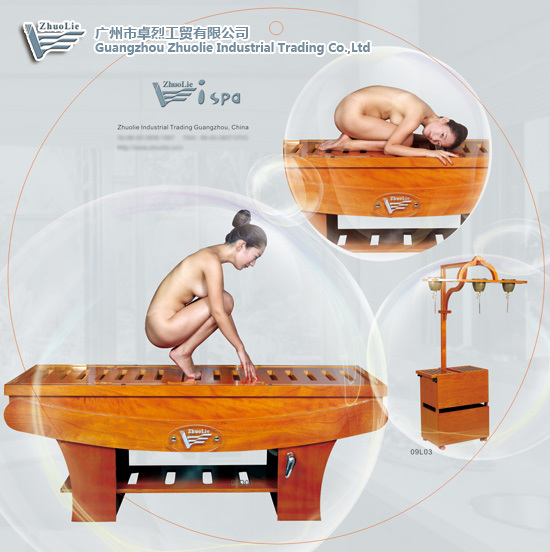 China 5 in 1 wooden steam massage bed 09d07 photos for 5 in 1 bed