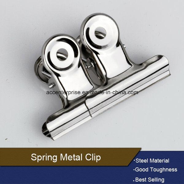 Round Head Metal Paper Clip Spring Clip
