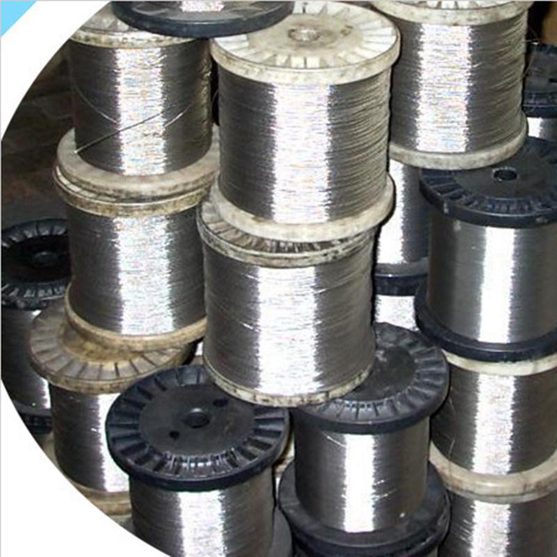 7X19 Ungalvanized/Galvanized/Stainless Steel Wire Rope