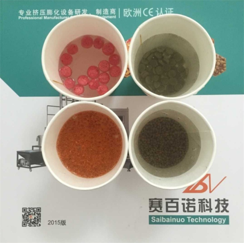 Big Output Automatic Floating Fish Feed Pellet Machinery