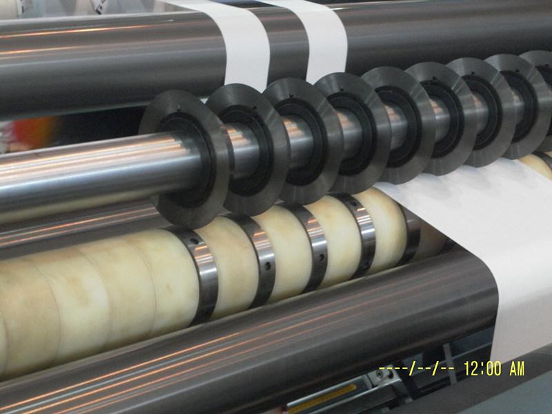 Rtfq-900/1600b Automatic Paper PVC Roll Slitting Rewinding Machine