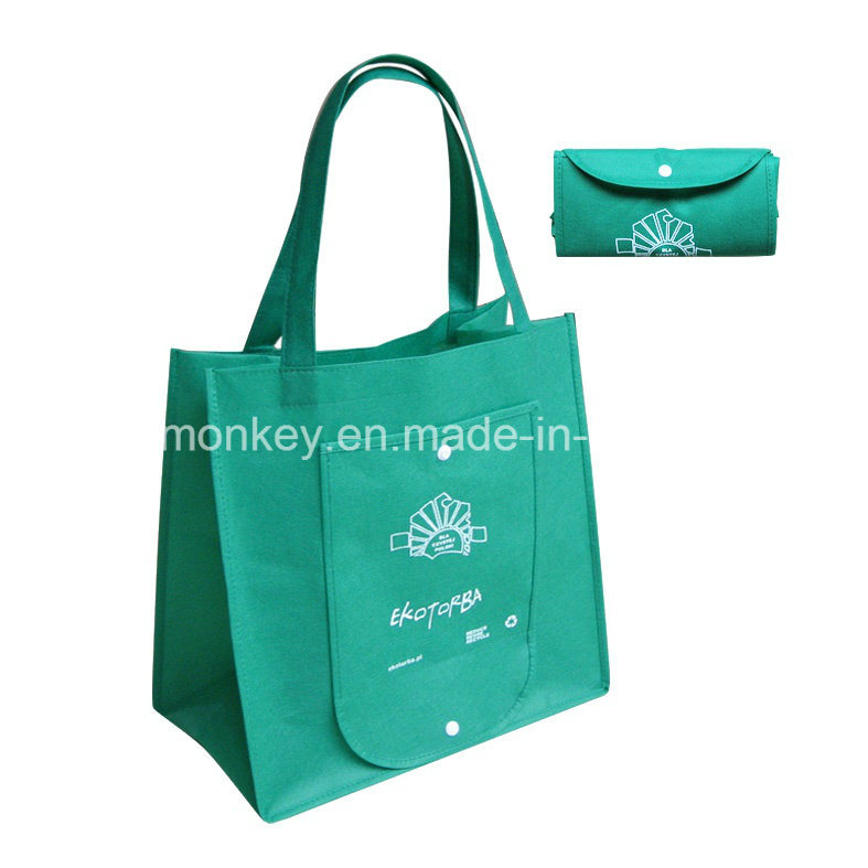 Pocket Foldable Non Woven Tote Shopper Bags