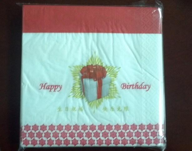 38*42cm Paper Napkin 1/6 Fold