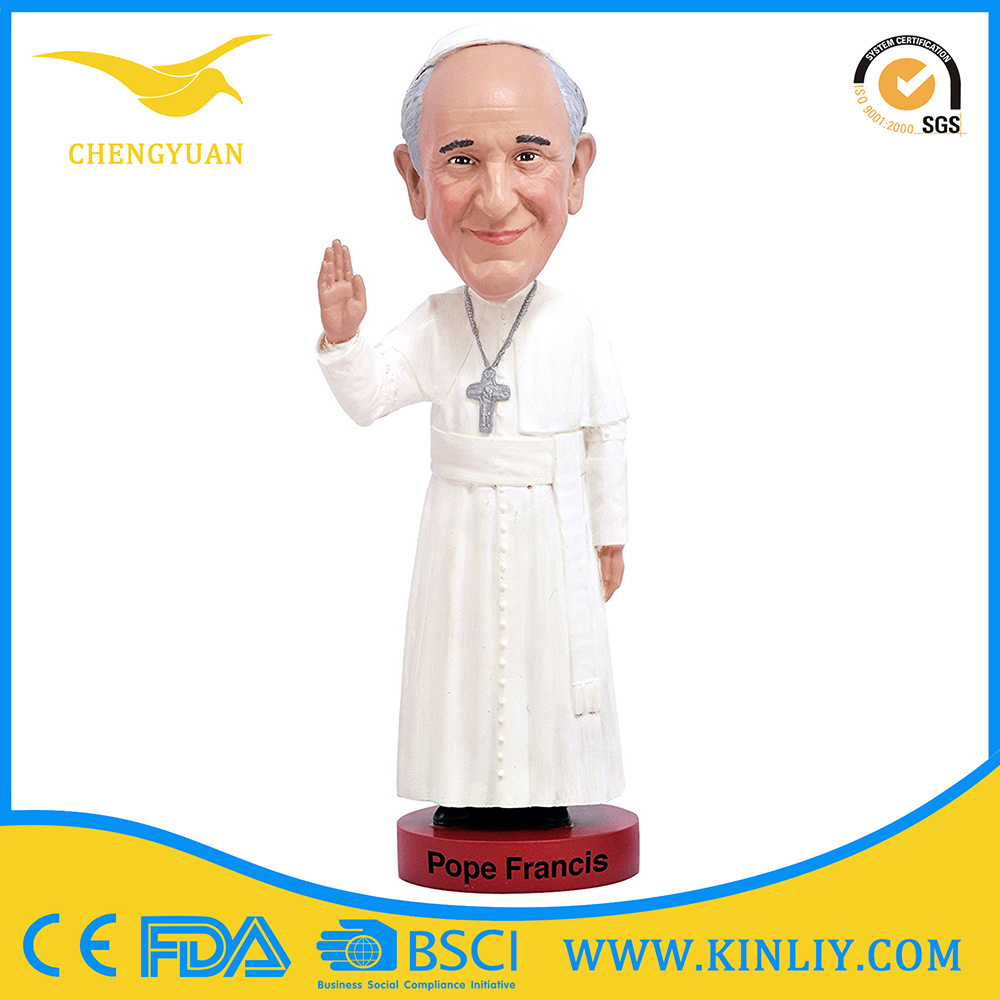 Hot Sale Funny Resin Bobblehead Promotion Gift