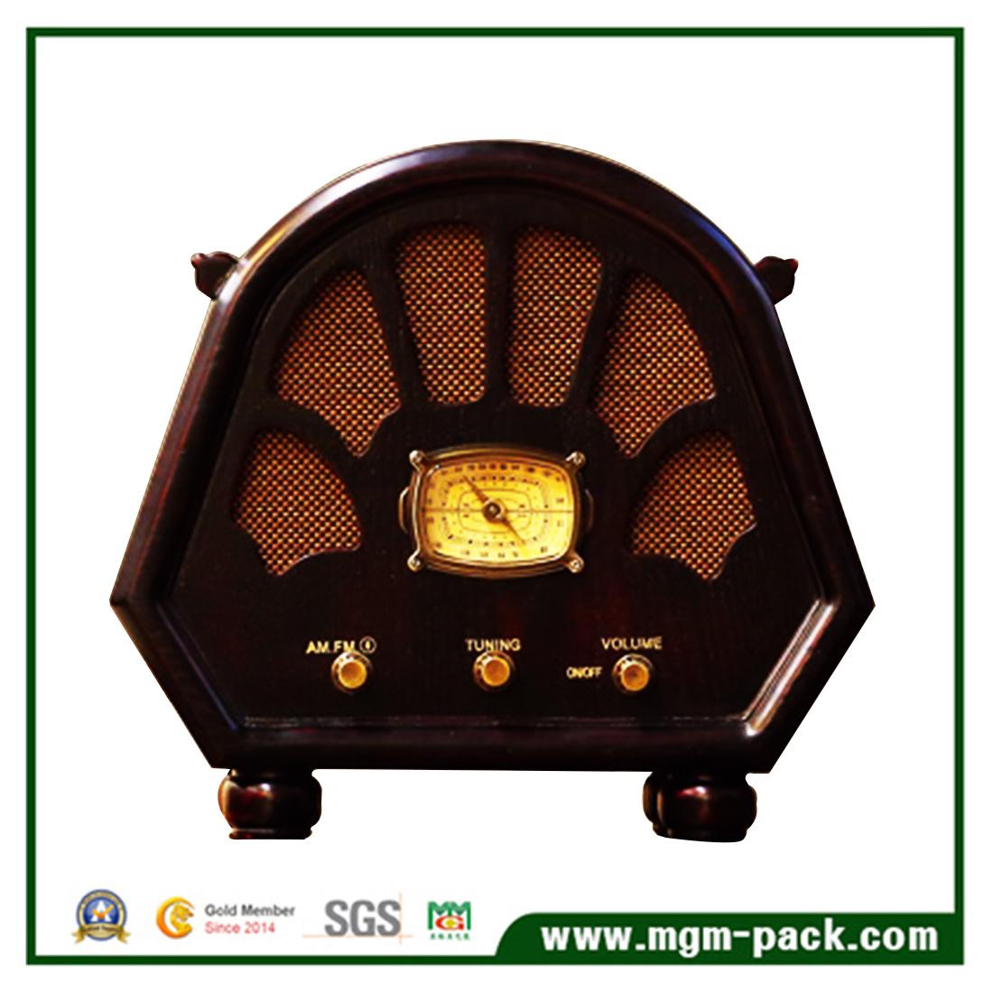 Vintage Custom Made Wooden Radio with Bluetooth