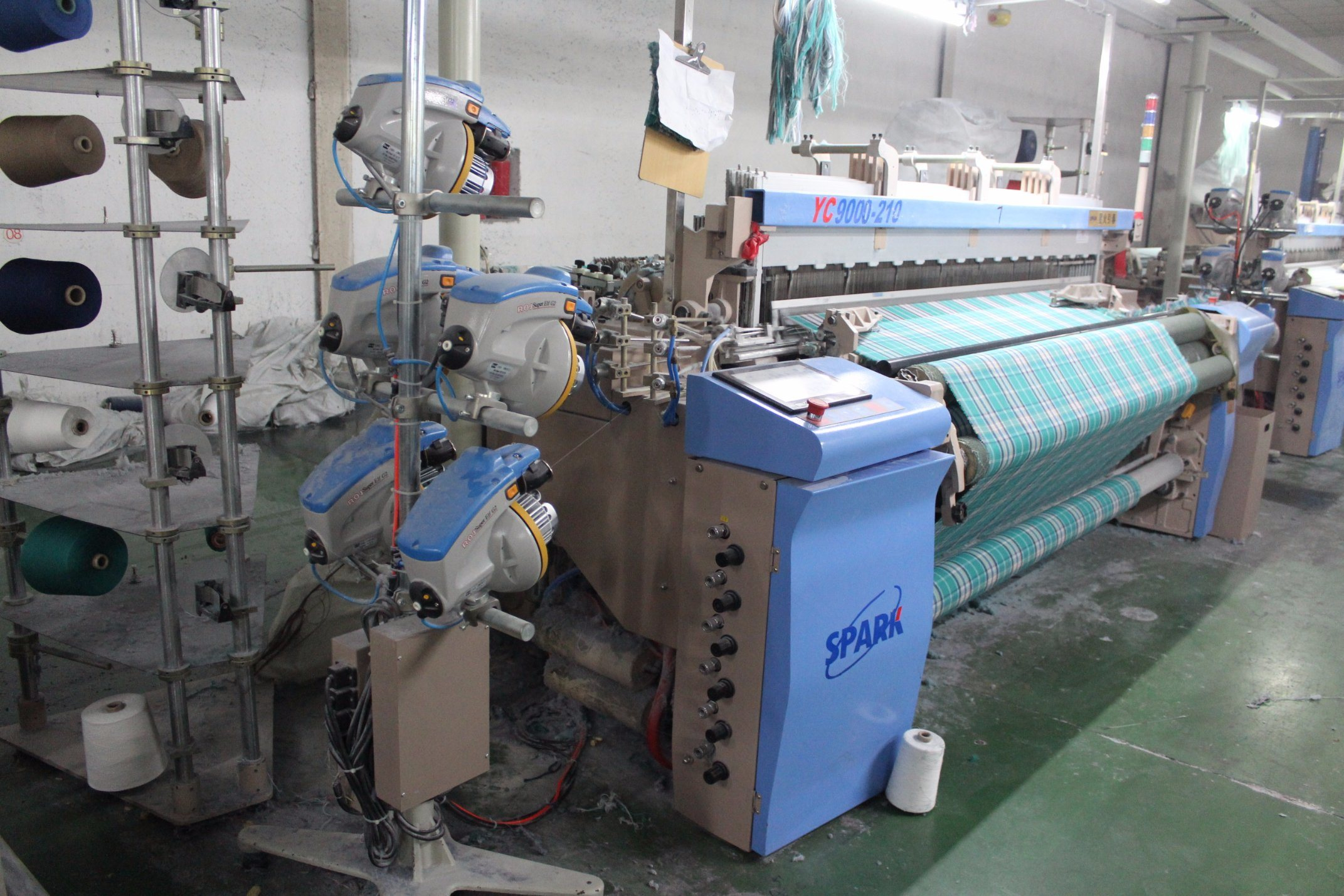 Colored Weaving Machine Air Jet Power Loom
