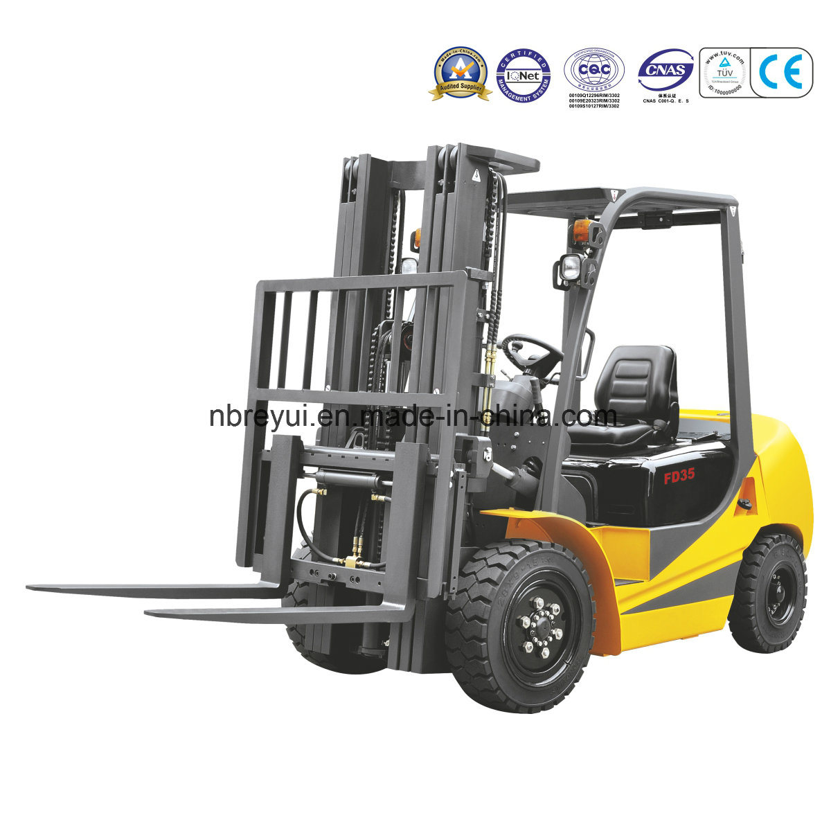2.5-3.5t Diesel/Gasoline Forklift Truck