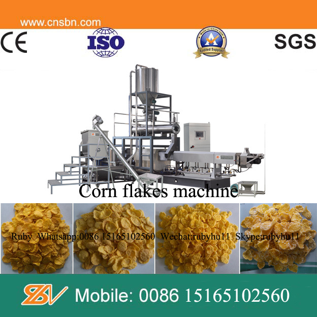 Industrial Automatic Kelloggs Corn Flakes Machine