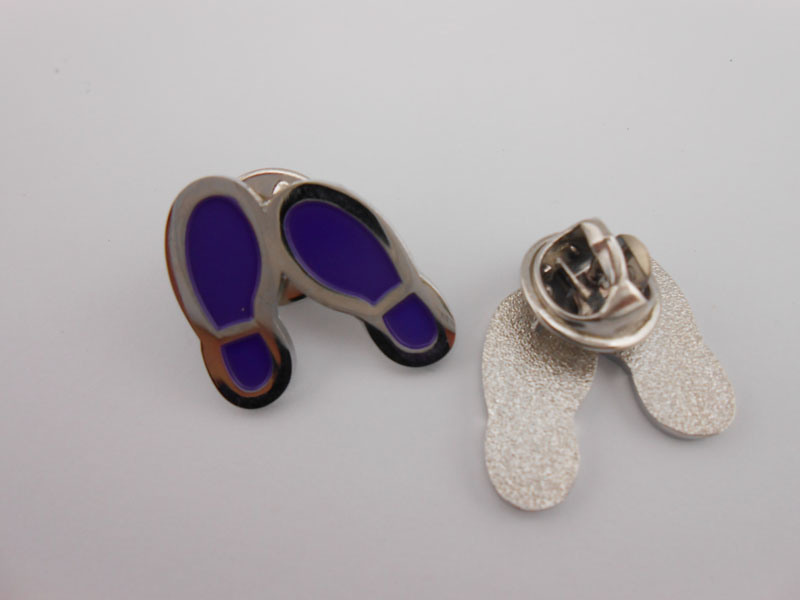 Shoe Shaped Metal Badge, Lapel Pin (GZHY-BADGE-028)