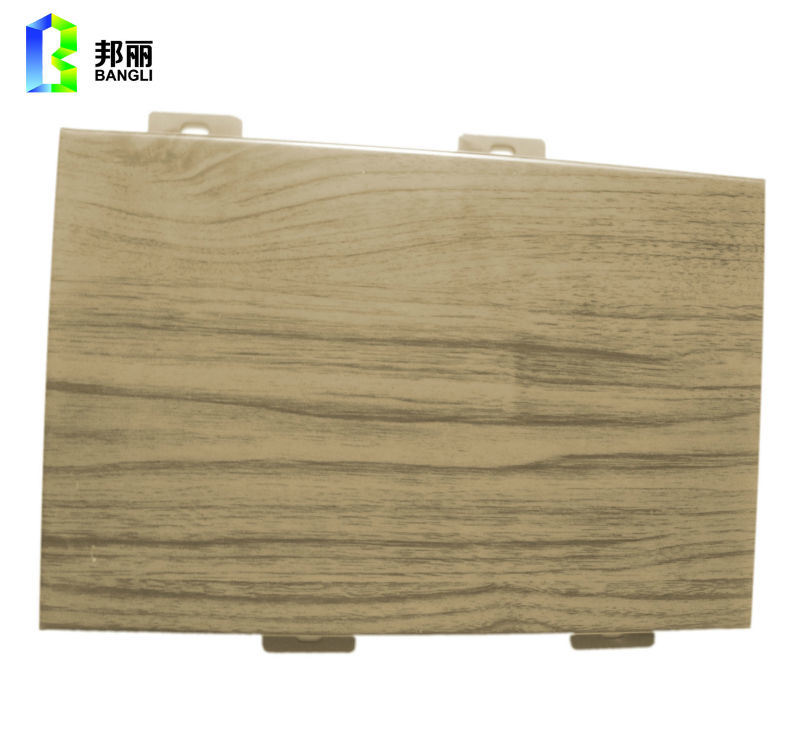 Aluminum Panel Solid Cladding Decorative Siding Panel Facade Cladding