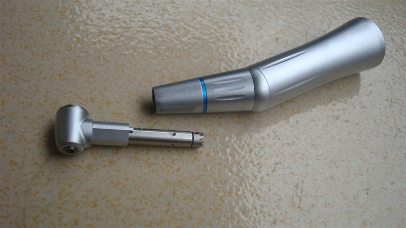 Internal Water Spray Dental Low Speed Handpiece with LED Light
