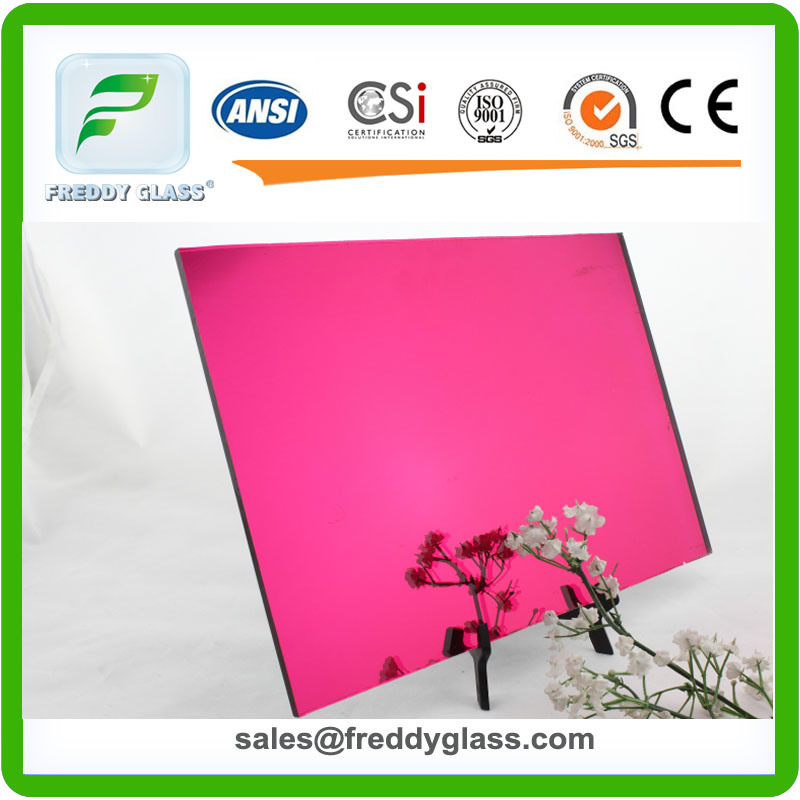 1.5mm-6mm Orchid Tinted Fashion Mirror