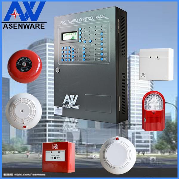 GSM Module Addressable Fire Alarm Control Panel