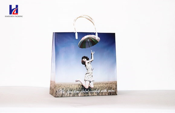 The Latest Portrait Non-Woven Handheld Shopping Bag