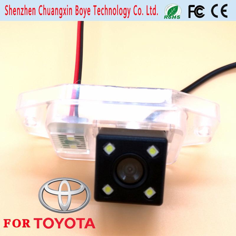 Mini Hidden HD CCD Real View Parking Car Back Camera for 2011 Totota Prado