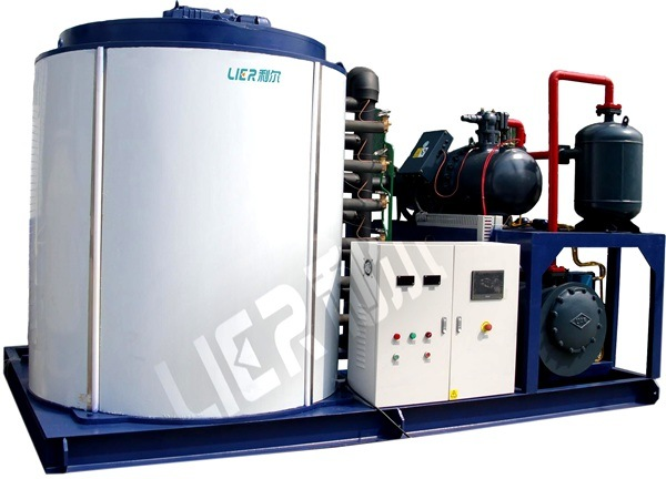 15ton Per Day Flake Ice Making Machine for Seafood Market