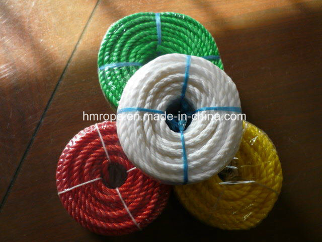 PP Monofilament Twisted Rope (PE 3 strands twisted rope)
