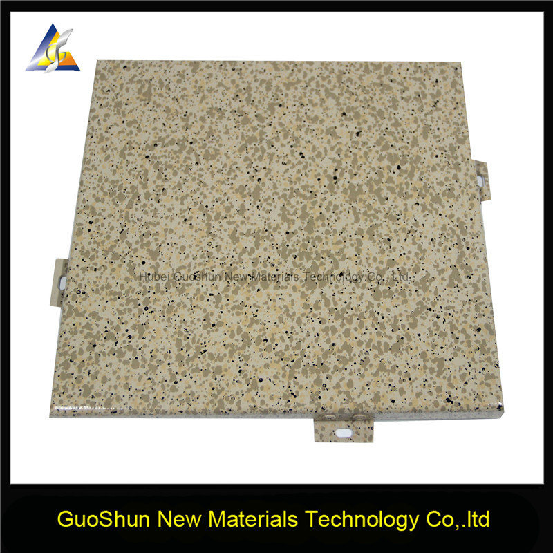 Marble and Rock Color Decorative Aluminum Wall Cladding Panel