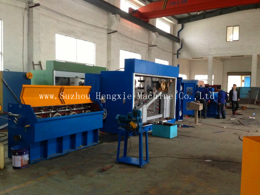 Large-Intermaediate Copper Wire Drawing Machine with Annealing (HXE-13DT)