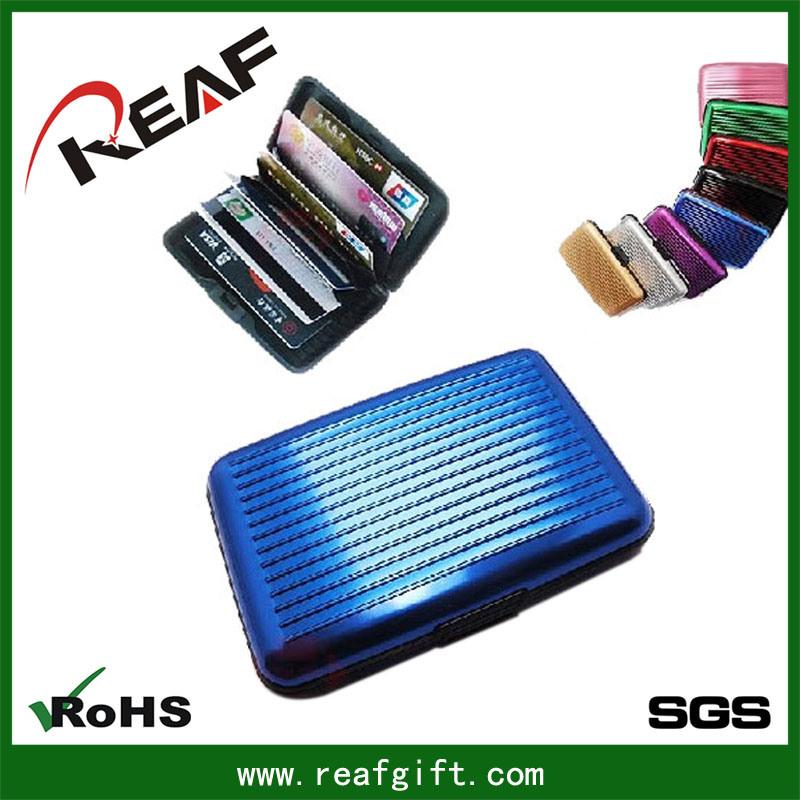 China Zhejiang Wholesale RFID Blocking Aluminum Wallet for Men