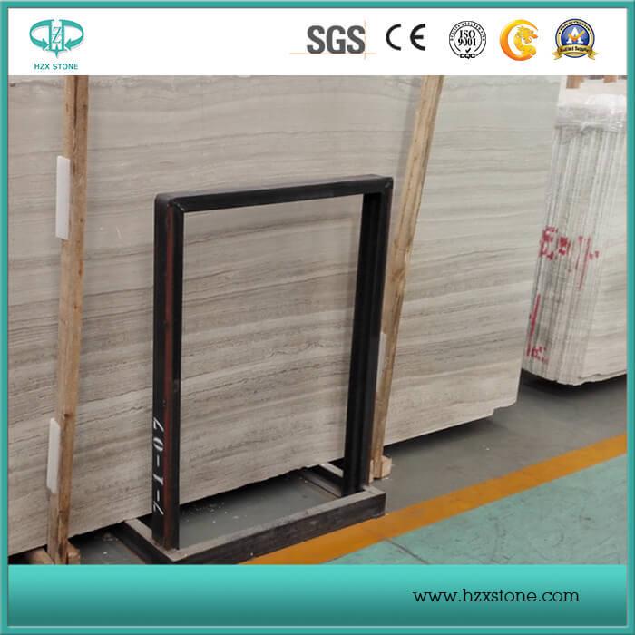White Wooden Grain/Veins Marble, White Serpeggiante Slabs/Tiles/Covering/Skirting/Pattern Marble