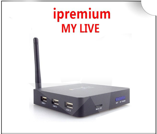 Ipremium My Live English Channels IPTV Box, Live TV Sky Sports, Euro Sport, Adult TV, Support Youtube, Facebook