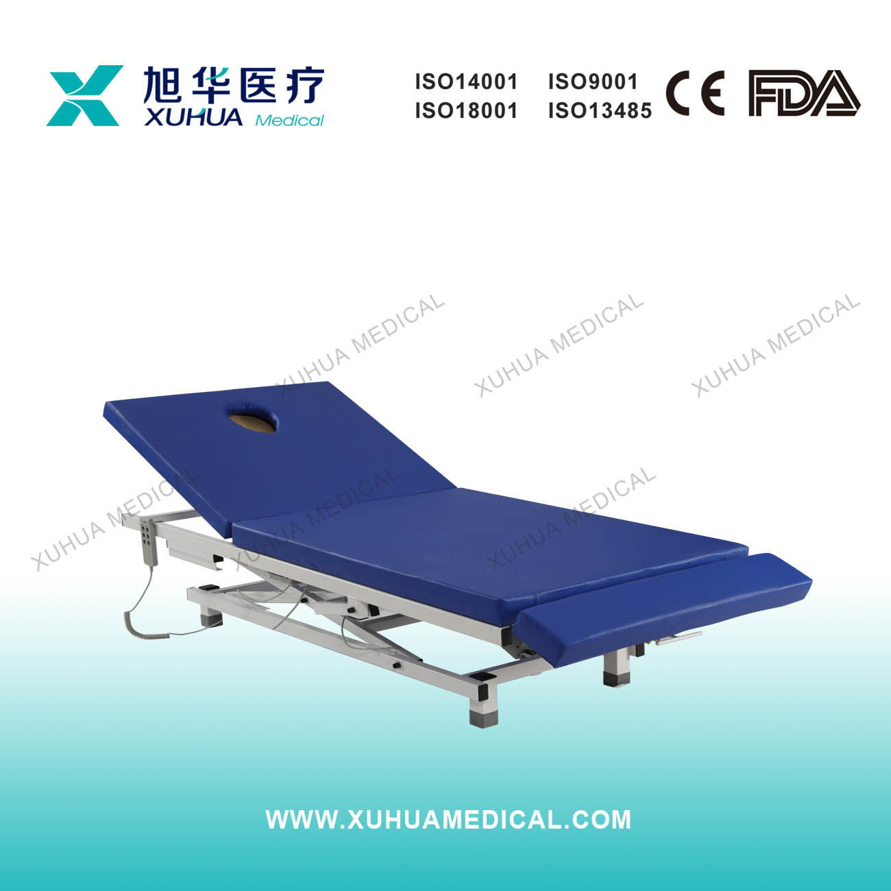 Deluxe Electric Adjustable Examination Couch (I-7)