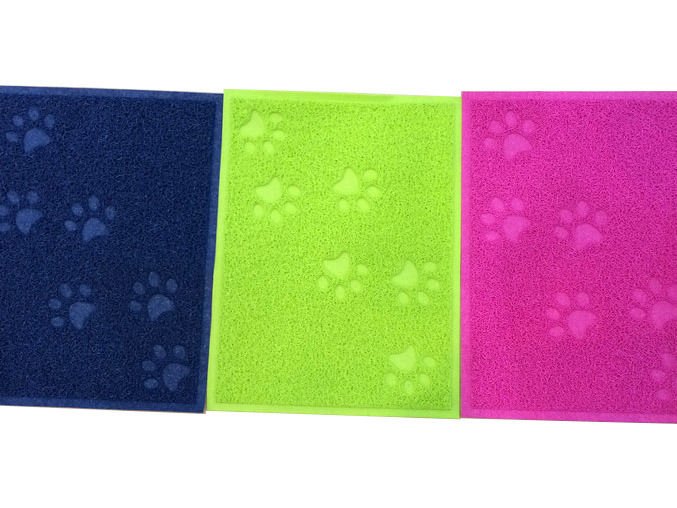 Colorful PVC Pet Mat for Home