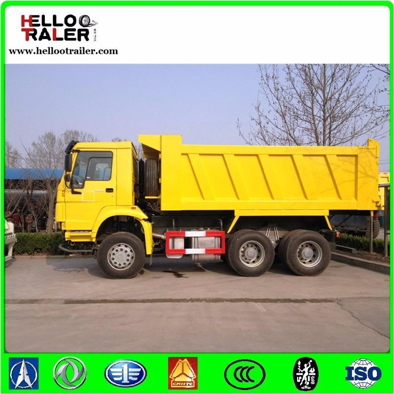 Sinotruk 6X4 Dump Lorry Truck 30ton HOWO Heavy Duty Tipper Dumper Truck