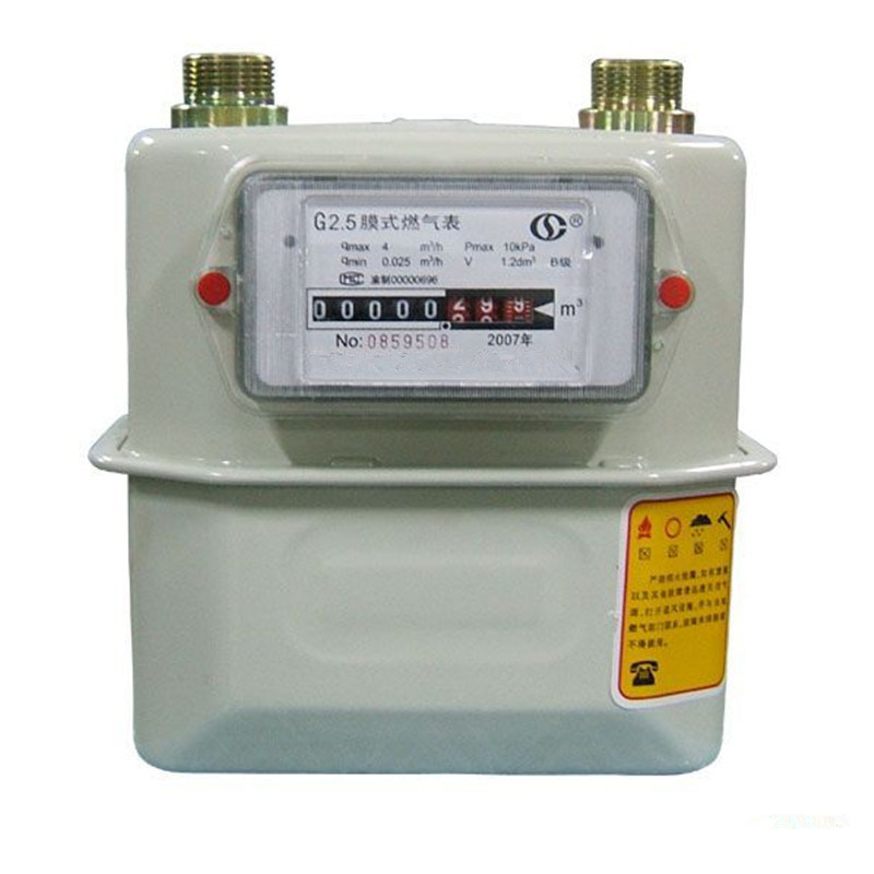 High Quality Hot Sales Aluminum/Steel Case Diaphragm Gas Meter G4