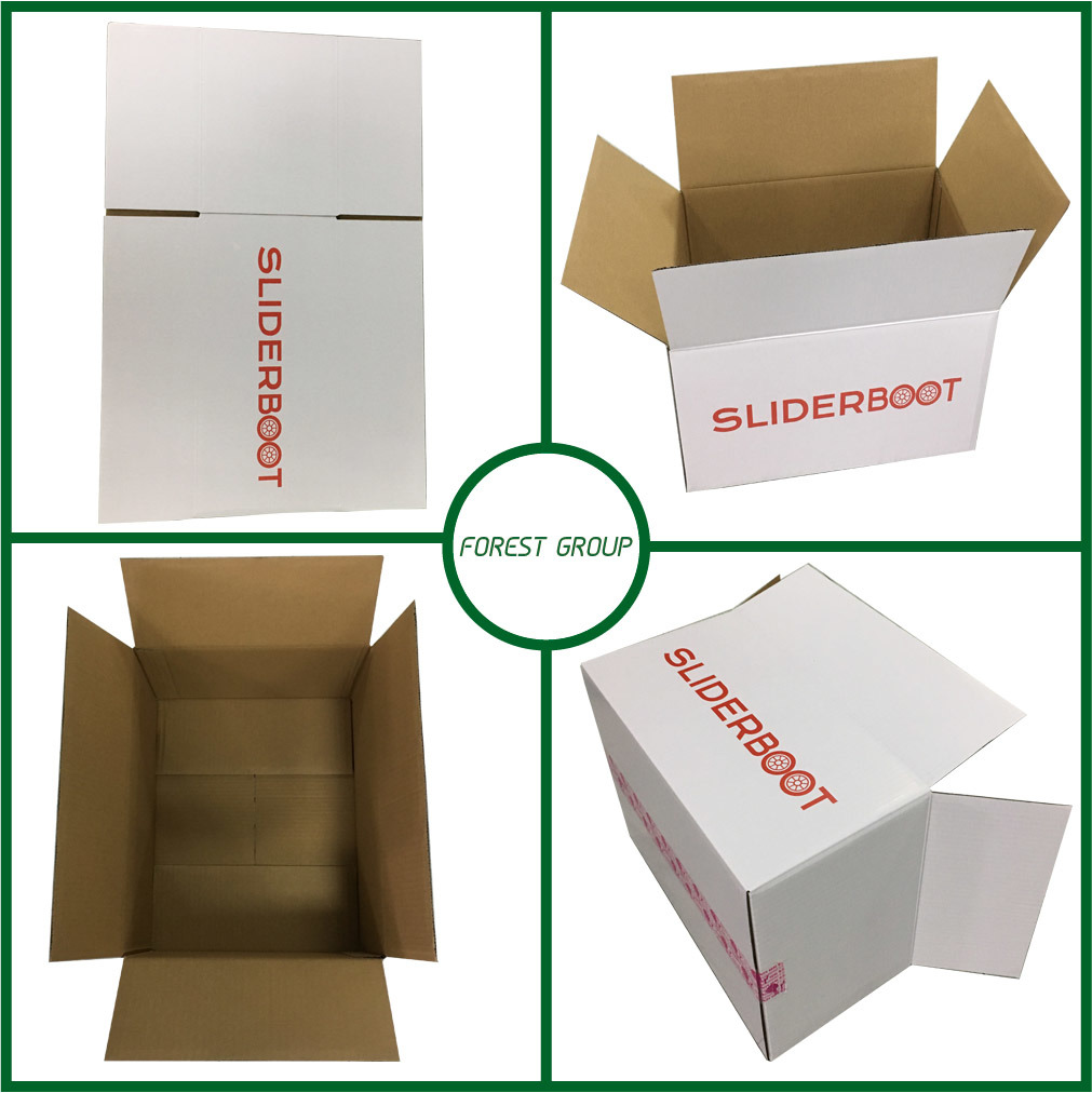 Full Overlap Heavy Packaging Corrugated Shipping Carton