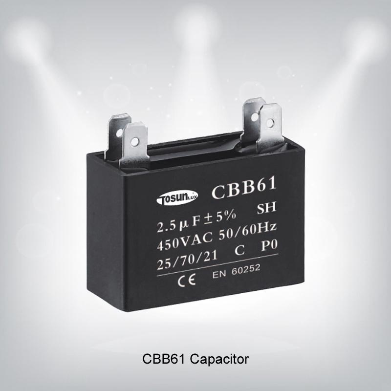 Metallized Polypropylene Film Illuminance Capacitor