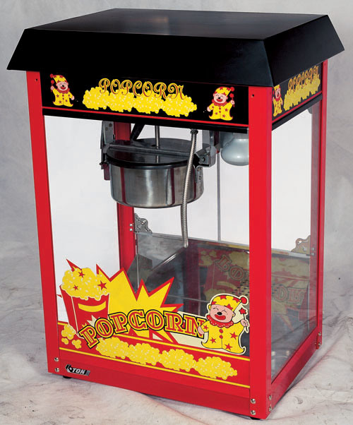 CE approved Newly Upgraded Luxury Popcorn Machine (ET-POP6A-B)