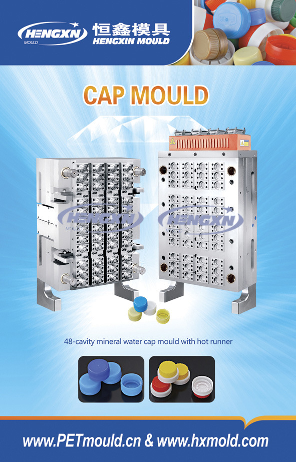 32 Cavities Cap Mould With Hot Runner