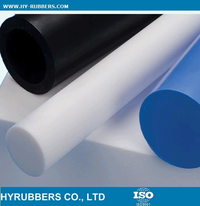 Pure Virgin White PTFE Extruded Rod