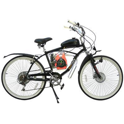 china beach bicycle with 49cc four stroke engine china. Black Bedroom Furniture Sets. Home Design Ideas