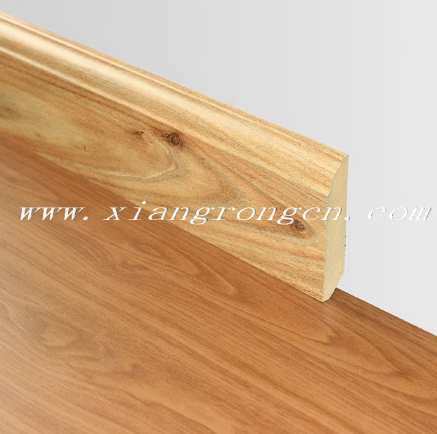 China Mdf Skirting Board Baseboard For Laminate Flooring