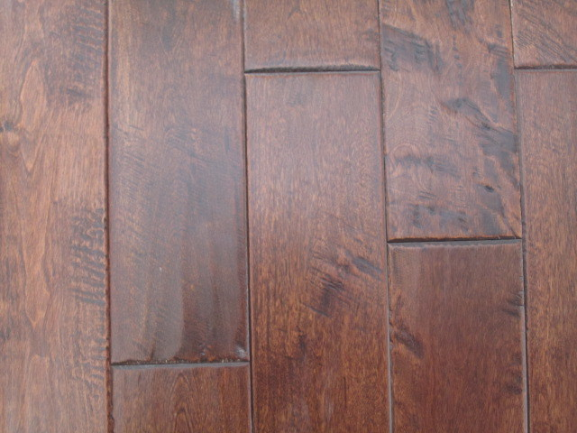 Engineered flooring birch hardness