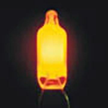 Yellow Neon Lamp